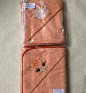 Полотенце уголок (махра) размер 90*90 см