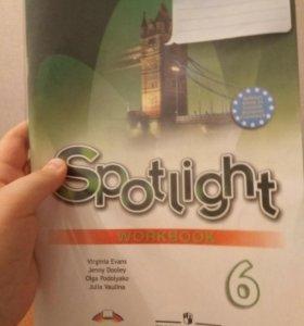 Spotlight 6 класс рабочяя тетрадь