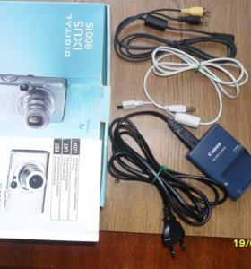 Зарядное устройство и кабели для CANON IXUS 800 IS