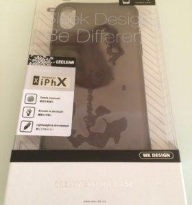 Чехол на iPhone X