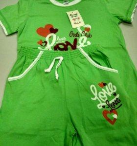 Пижама для девочки 100% хлопок рост 134-140 см.