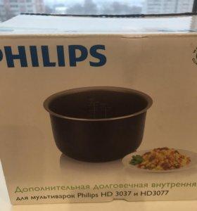 Чаша для мультиварки Philips 3037/3077 НОВАЯ
