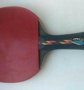 Ракетка и чехол для пинг понга
