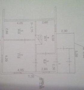 Дом, 44.2 м²