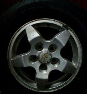 Литые диски Hyundai R15