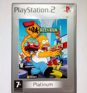 Simpsons Hit and Run для PlayStation 2
