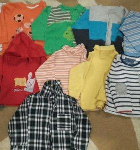 Кофты, водолазки, толстовка и рубашка