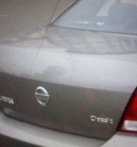 Задняя крышка багажника под покраску Ниссан а