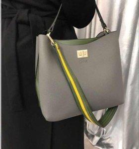 Женская кожаная сумка арт. 1 9 7