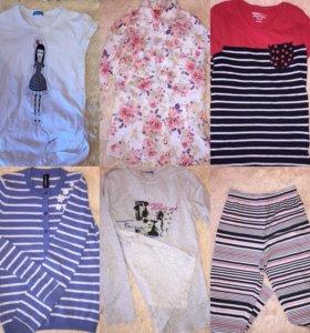 Одежда для девочки , цена за все
