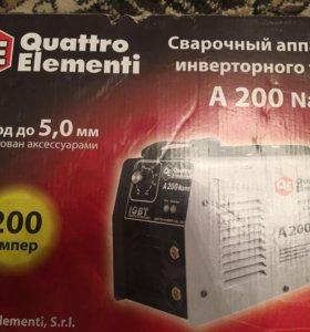 Сварочный аппарат Quattro Elementi A200 nano