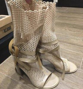 Летние полусапожки (туфли)