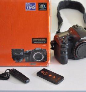 Фотокамера sony SLT-A77V GPS body (перешлю)