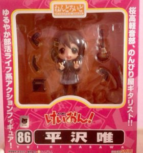Аниме фигурка K-On - Yui Hirasawa (Nendoroid)