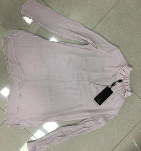 Новая блуза Massimo Dutti натуральный шёлк