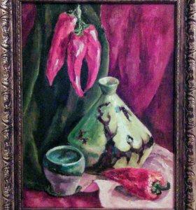 "Картина ""Натюрморт с перцами""."