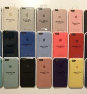 Чехол IPhone 6+/6s+ Silicone Case оригинальный