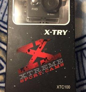 Экшн Камера X-try xtc 100