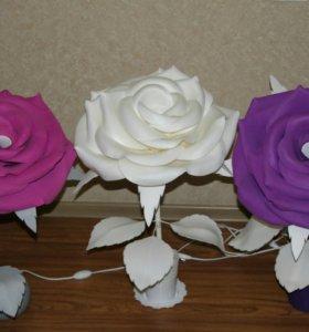 Роза -светильник