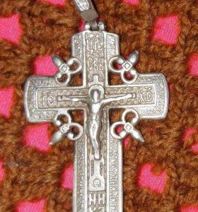 Серебряный крест.