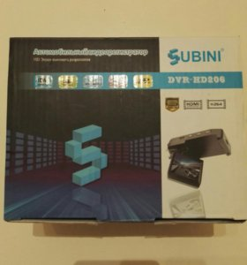 Видеорегистратор Subini DVR HD206