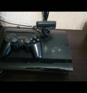 Приставка Sony PlayStation 3 SuperSlim 500GB +Игры