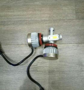 Led лампы h9 и h11