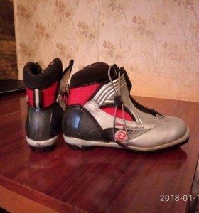 лыжные ботинки б/у Россигноль