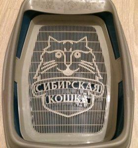 Новый туалет для кошки