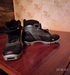 лыжные ботинки Альпина б/у