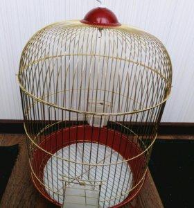 Компактная клетка для попугая