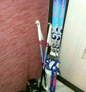 Лыжи новые
