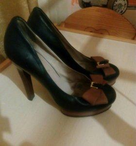 Туфли женские кожа.нат