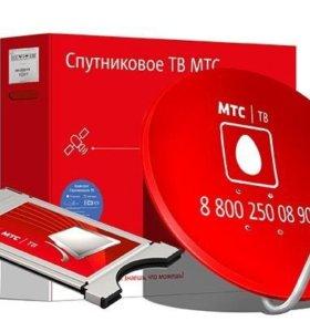 Комплект спутникового ТВ МТС модуль САМ Irdeto