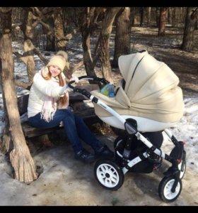 Коляска concord Car Baby lux 3 в 1 (эко-кожа)