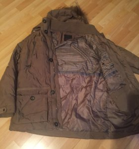 Куртка пуховик мужская 52 рр