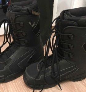 Ботинки сноубордические head Custom Termo fit р 42