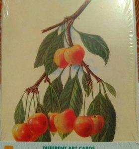 Набор открыток фрукты, икеа