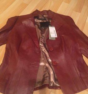 Куртка кожаная пиджак