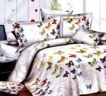 Постель с бабочками