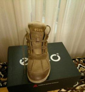 Ботинки ECCO зимние.
