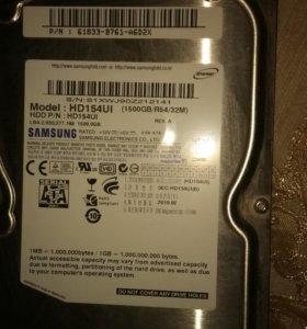 HDD Samsung hd154ui 1500 gb