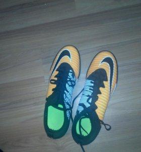 Бутсы Nike mercurial X