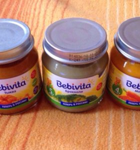 Детское питание Bebivita (овощные)