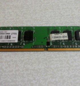 DDR2 512MB 667