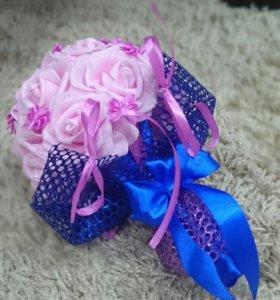 Цветы, подарок, букет, букет дублер