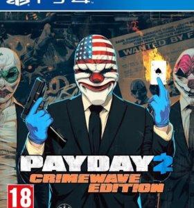 Игра на ps4 payday2