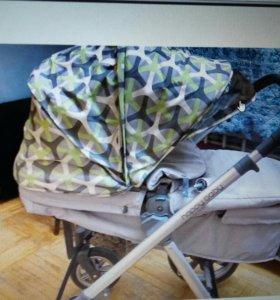 Коляска с автокреслом трансформер happy baby ultra