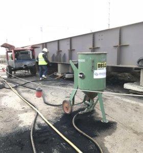Пескоструйное Оборудование и работы