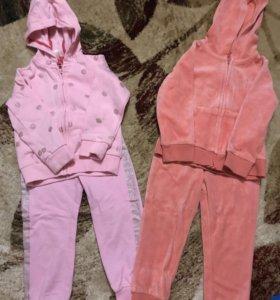 Спортивный костюм для девочки р-р 98